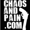 Chaos and Pain Logo