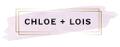 Chloe + Lois Logo