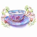 Chrissie's Tea Cup Logo