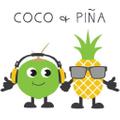 coco + piña Logo