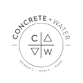 Concrete + Water Logo