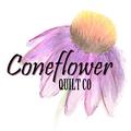 Coneflower Quilt Co Logo