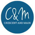 Crescent and Main Logo