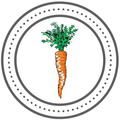 The Curated Carrot Logo