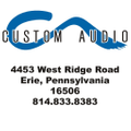 Custom Audio Shop Logo