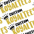 Custom RoyalTees Logo
