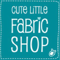 Cute Little Fabric Shop Logo