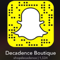 Decadence Boutique Logo