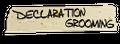 Declaration Grooming Logo