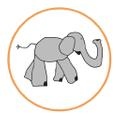 Desmond Elephant Logo