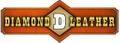 Diamond D Custom Leather USA Logo