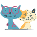 Doc & Phoebe's Cat Co. Logo