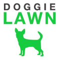 Dog Potty Grass Logo