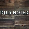 Duly Noted Stationery Logo