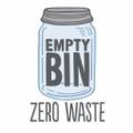 Empty Bin Zero Waste Logo