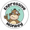Expressive Monkey Logo