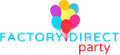 Factory Direct Party logo
