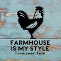 Farmhouse Is My Style. Logo