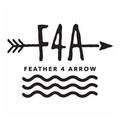 Feather 4 Arrow Logo