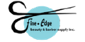 Fine Edge Beauty and Barber Supply Logo