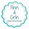 Finn & Grin Baby Boutique Logo