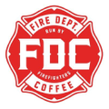 Fire Department Coffee Logo