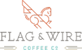 Flag & Wire Coffee USA Logo
