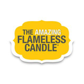 The Amazing Flamaless Candle Logo