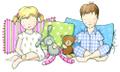 Four In The Bed Sleepwear Australia Logo