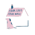 Four Legs / Four Walls logo