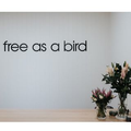 Free As A Bird Logo