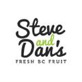 Steve & Dan's Fresh B.C. Fruit Logo