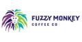 Fuzzy Monkey Coffee Co. USA Logo