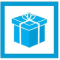 Gifts Are Blue Logo
