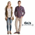 www.gilsclothing.com Logo