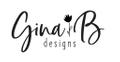 Gina B. Designs USA Logo