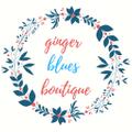 Ginger Blues Boutique Logo