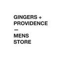 Gingers + Providence Mens Store Logo