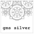 Gms Silver Logo