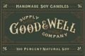 Good + Well Supply Co Logo