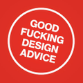 Good Fucking Design Advice logo