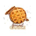 Gourmet Candle Logo