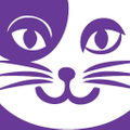 Grape Cat  Logo