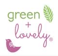 Green + Lovely logo