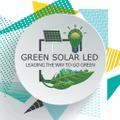 Green Solar LED logo