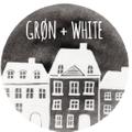 Grøn + White Logo
