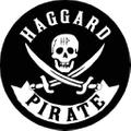 Haggard Pirate Logo