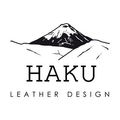 Haku Leather Design Logo