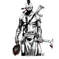 Half Face Blades Logo