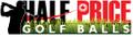 Halfpricegolfballs Logo